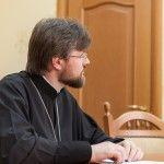 Протоієрей Миколай Данилевич, секретар Відділу зовнішніх церковних зв'язків УПЦ