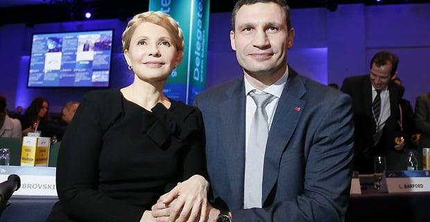 Кличко звернувся до Тимошенко