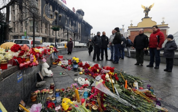 Death toll rises to 105 in mass upheaval in Kyiv