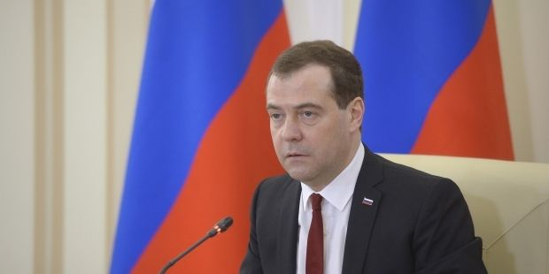 Medvedev starts to rearrange occupied Crimea/ Reuters