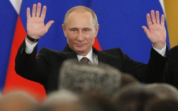Путин пошутил о реакции США на его письмо / REUTERS