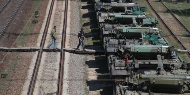 Россияне ломают технику перед отправкой в Украину