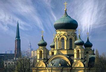 Кафедральный собор святой Марии Магдалины, Варшава. Фото с сайта pravoslavie.ru