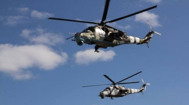 Fighters shoot down one more military helicopter in Slaviansk