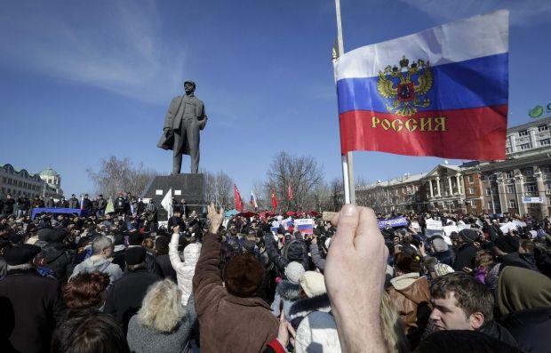 21% донеччан столкнулись с языковой проблемой в Донецке / REUTERS