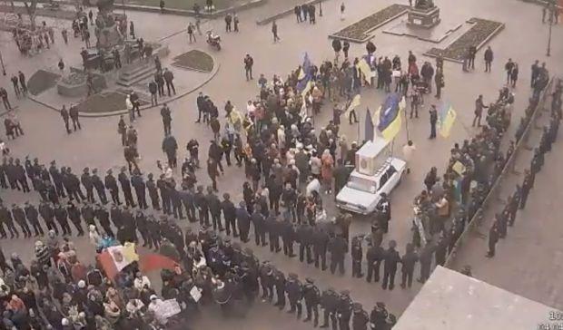В Одессе состоялось два митинга
