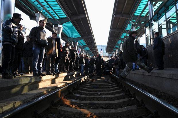 Террористы не пустили на Донбасс поезд для эвакуации детей / railway.in.ua