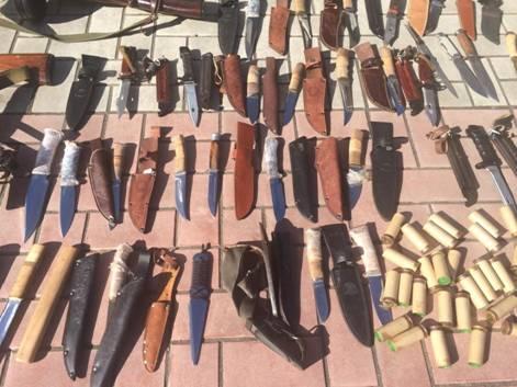 У диверсантів вилучили арсенал зброї / СБУ
