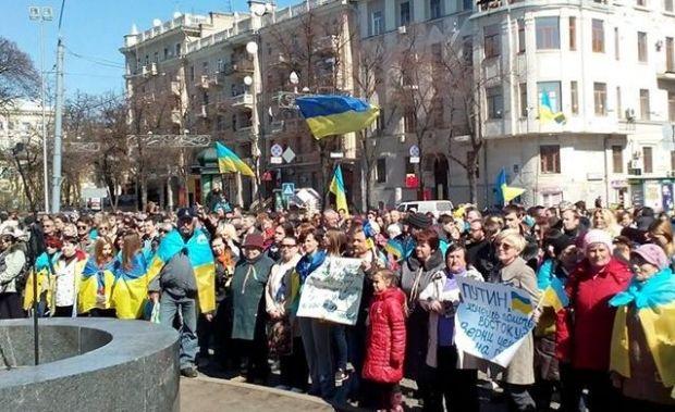 В Харькове проходит Евромайдан / Facebook/Владимир Чистилин