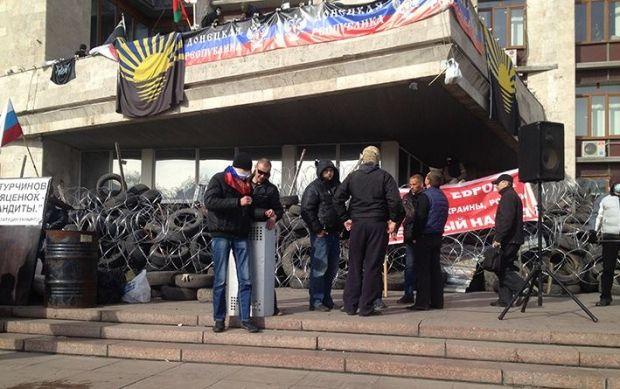 В Донецке активизировались сепаратисты / ostro.org