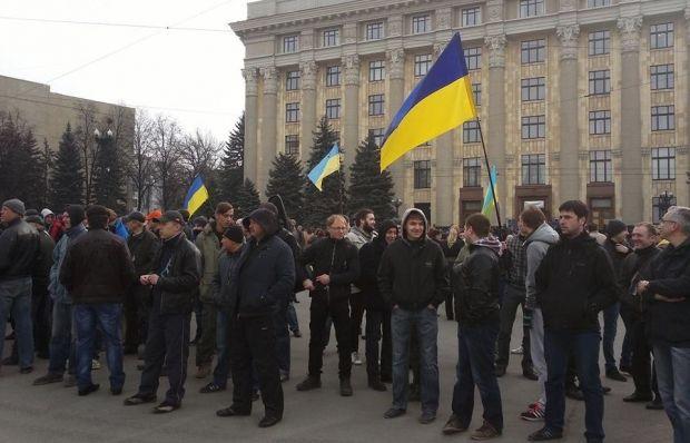 Митинг Евромайдана разогнали / Facebook / Slava Mavrichev