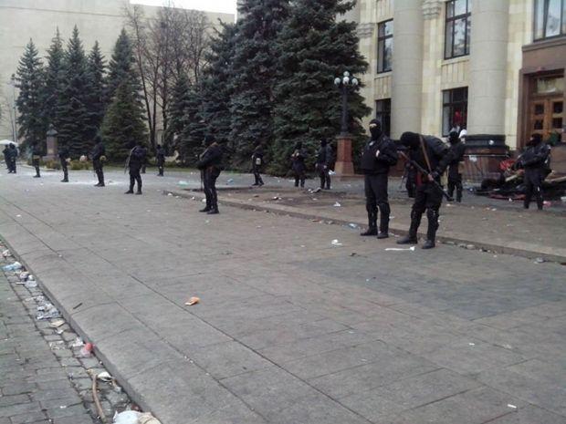 """Yaguar"" release Kharkiv OSA without shots and victims – lawmaker/glavnoe.ua"