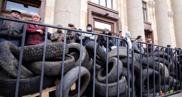 В Харькове антимайдановцы напали на людей