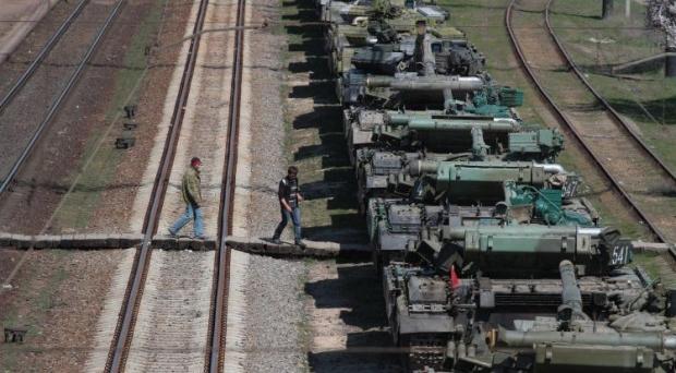 Россия перестала отдавать Украине технику из Крыма / Фото УНИАН