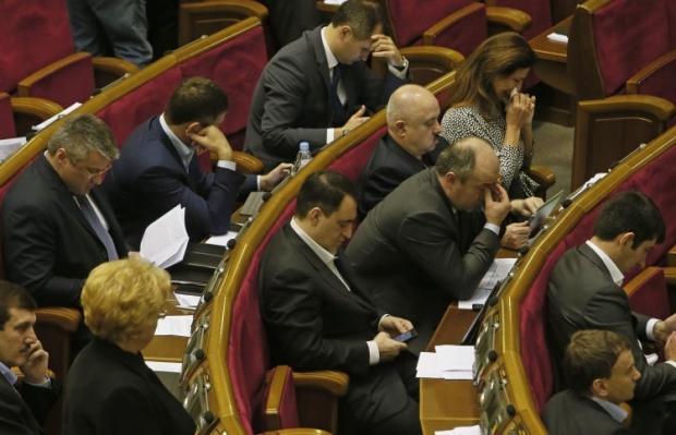 В Раде приняли закон о парламентской оппозиции