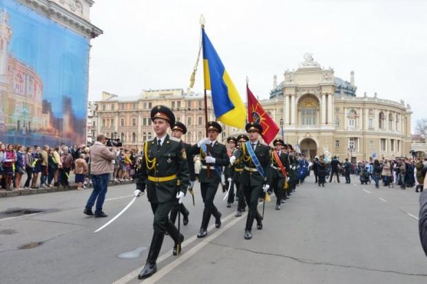 В Одессе сепаратисты пытались сорвать празднование освобождения города