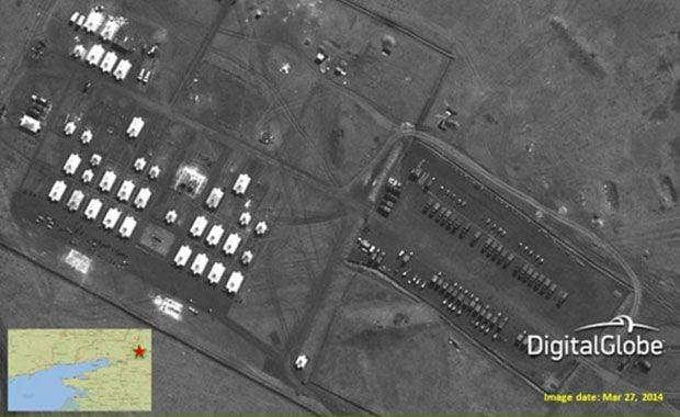 НАТО, войска РФ, Украина, граница / REUTERS/Digital Globe