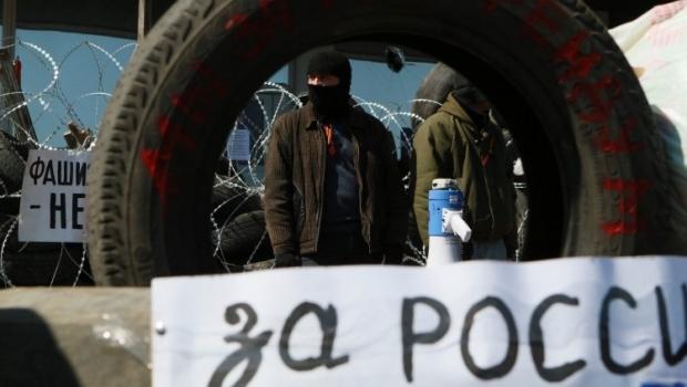 В Донецке сепаратисты продолжают устраивать беспорядки