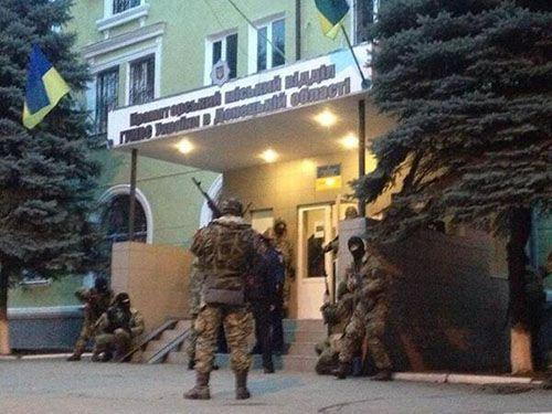 У Краматорську захопили міськвідділ міліції / kramatorsk.info