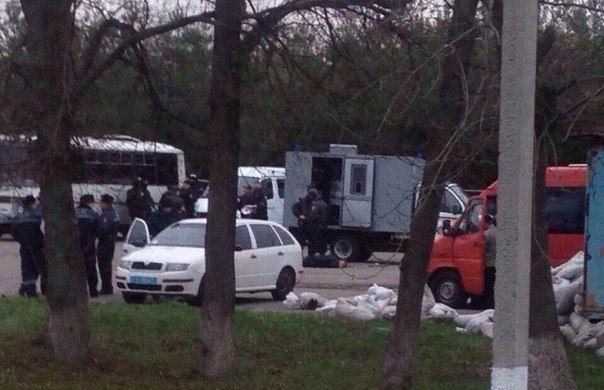 Задержание активистов в Полтавской области