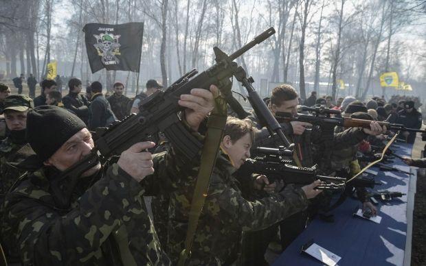 призывники нацгвардии / REUTERS
