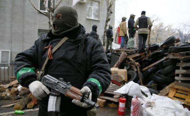 Боевиков в Славянске приютили в местном православном центре / REUTERS