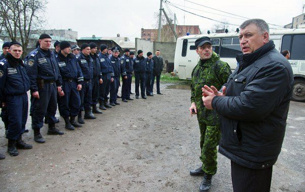 Part of militia in Horlovka goes over to command of lieutenant colonel of army of RF/Photo: Aleksey Kravtsov