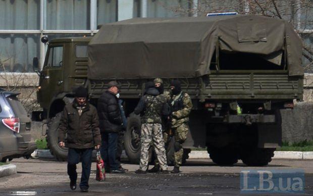 К сепаратистам в Славянск прибыло подкрепление / LB.ua
