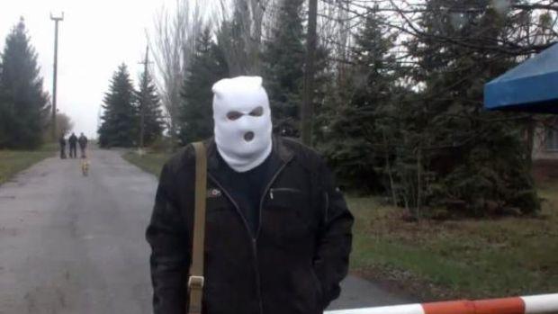 "Separatists seize airfield in Slavyansk/Screenshot of video of ""Delovoy Slavyansk"""