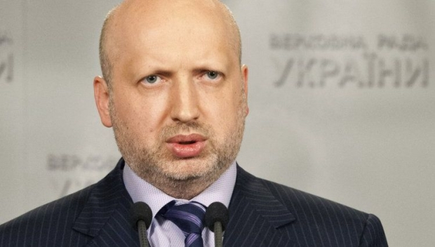 Turchynov convenes meeting of all heads of Oblasts urgently