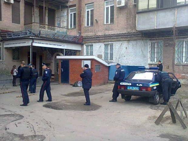 Милиция Харькова проводит обыски / ТСН