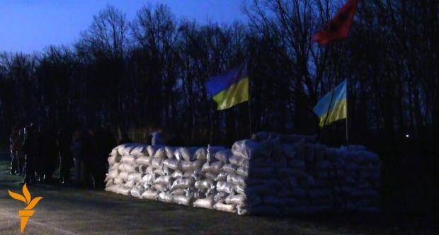 В Донецкой области атаковали украинский блокпост
