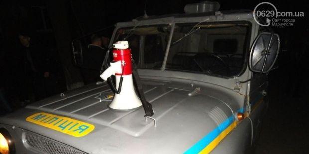 сепаратисты, Мариуполь, милиция