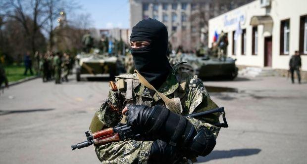 Военных разоружил россисйкий спецназ / REUTERS