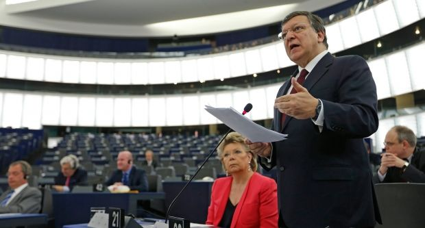 European Parliament supports actions of Ukraine in east and confirms its right for self-defense – resolution / REUTERS