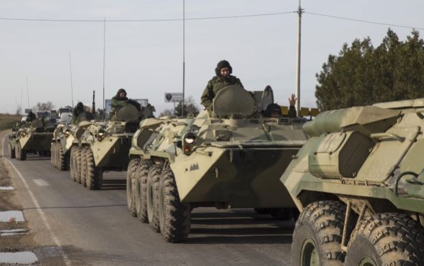 "RF troops are ready to carry out ""peacekeeping operation"" at territory of Ukraine – Tymchuk/REUTERS"