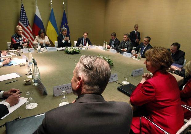 Чотиристороння зустріч у Женеві / REUTERS