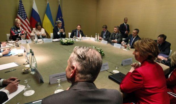 Встреча в Женеве продолжалась восемь часов / REUTERS