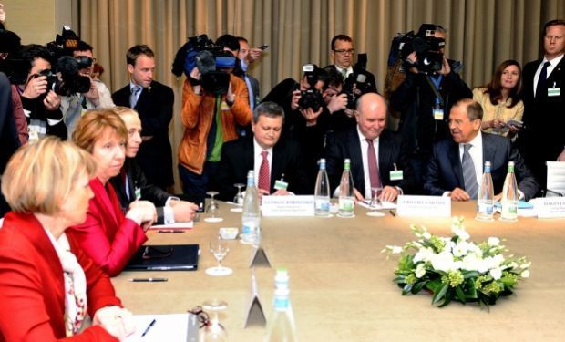 В Женеве не обсуждали Крым / REUTERS