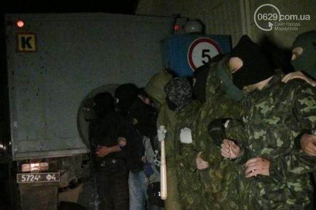 Мариуполь. сепаратисты