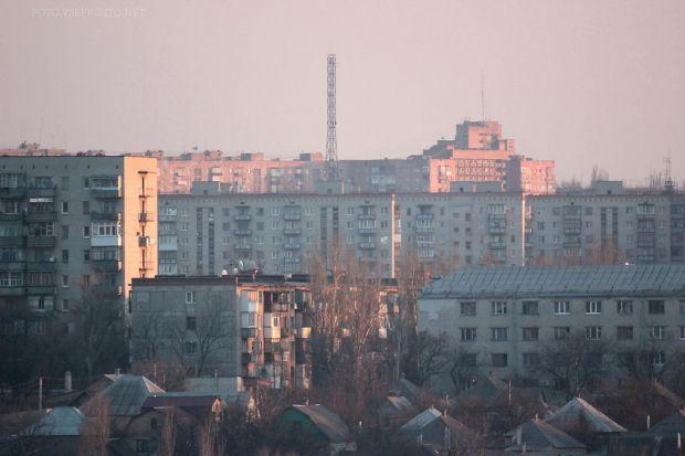 В Краматорську вкотре захопили телевежу / vseprosto.net