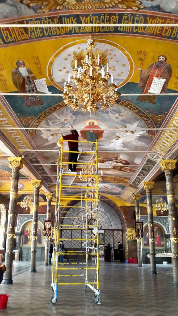 Трапезна палата після реставрації