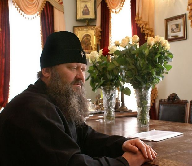 Митрополит Павел - наместник Киево-Печерской лавры с 1994 года