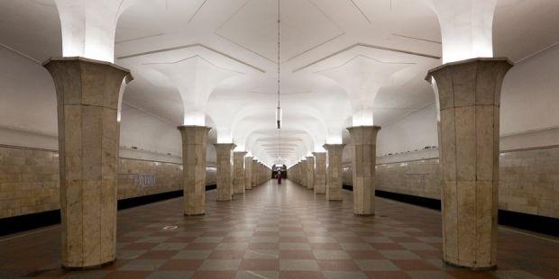 московское метро Кропоткинская / one-in.livejournal.com