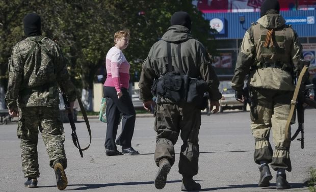 Authorities decide to block Slaviansk within 2nd stage of ATO/REUTERS