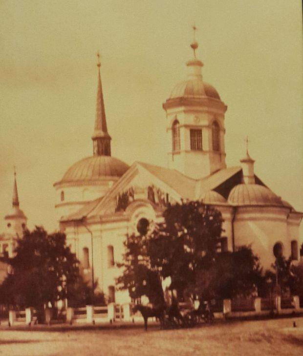 Успенський собор на Подолі, XIX cт.