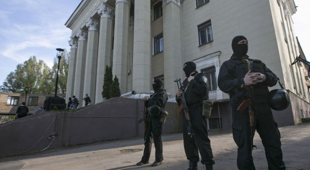 Oblast Broadcast Center seized in Donetsk – mass media / REUTERS