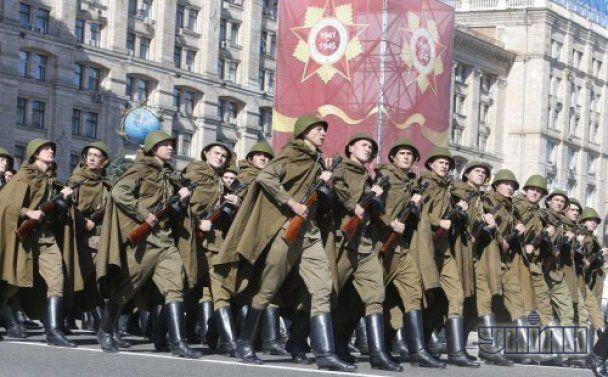Парад в Киеве 9 мая 2013 года