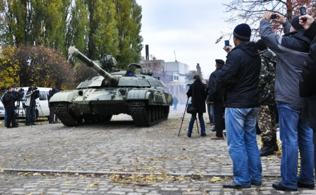 Military exercises with combat vehicles to take place in Kyiv today