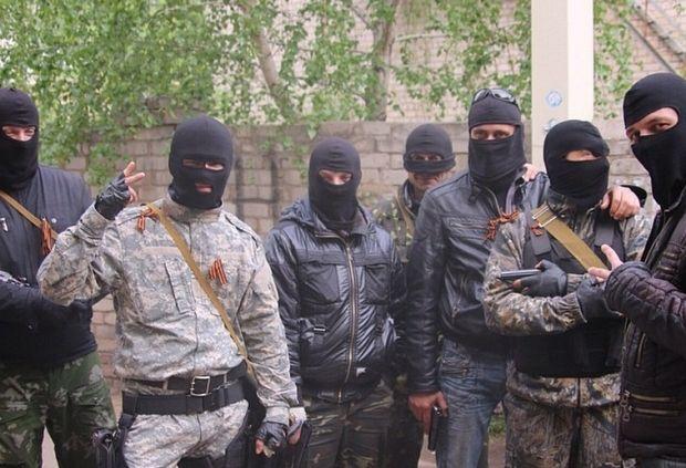 Террористы в Славянске / instagram.com/sashakots